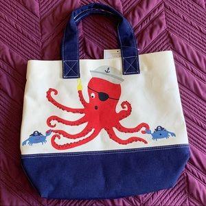 Womens Top Handle Satchel Handbag Cute Marine Octopus Ladies PU Leather Shoulder Bag Crossbody Bag